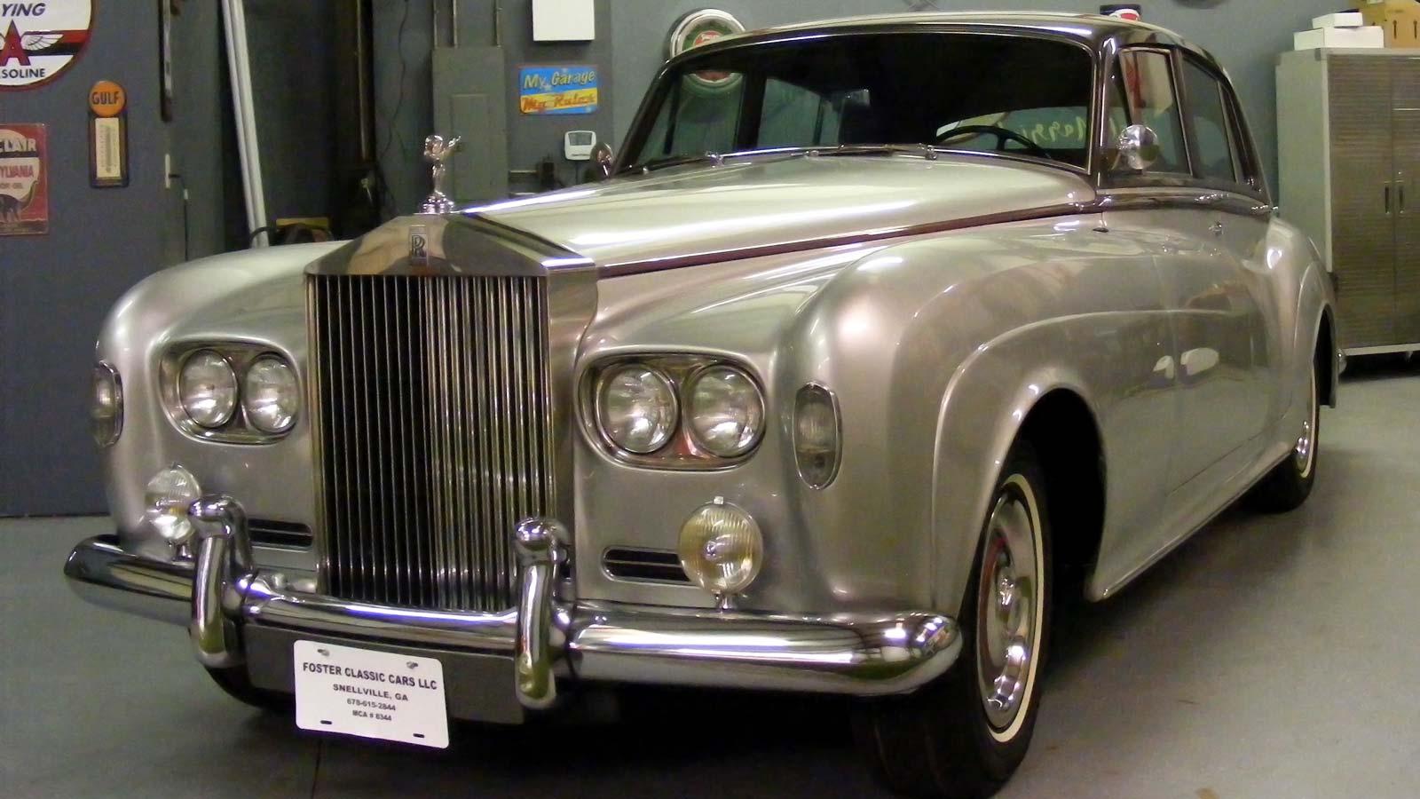 1965 Rolls Royce Silver Cloud III – Foster Classic Cars